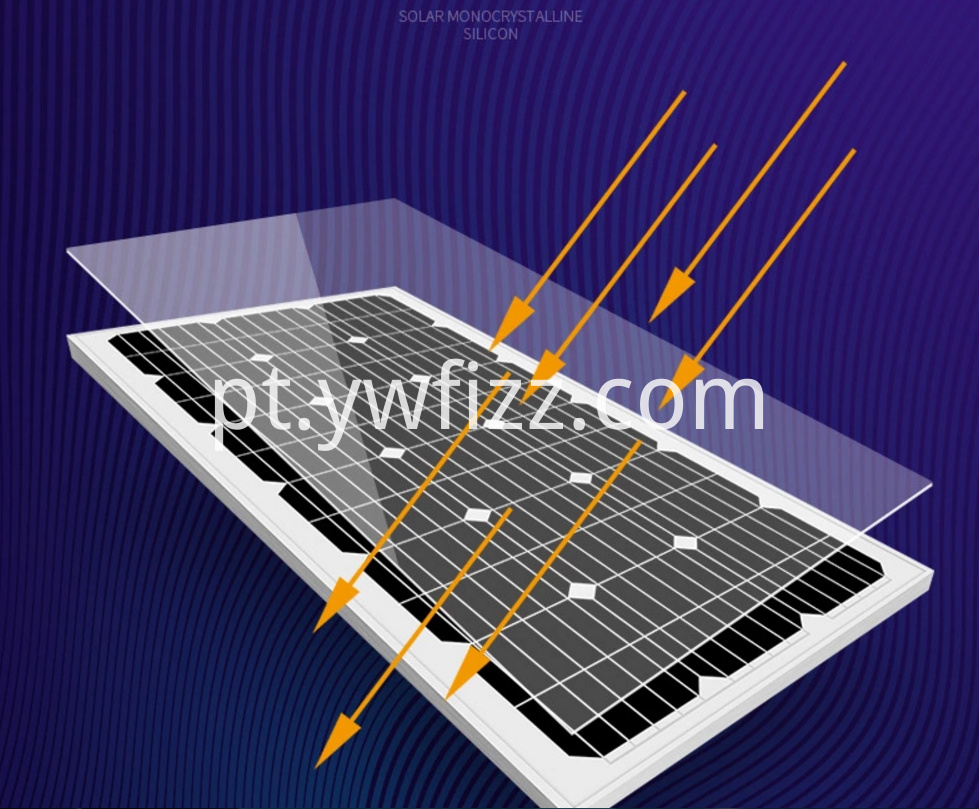 Single Crystal Solar Photovoltaic Module