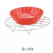 Cofre de isolamento térmico de cozinha de aço inoxidável simples e durável