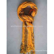 Yarn-dyed polyester cheap pashmina shawl