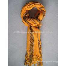 Yarn-dyed polyester cheap pashmina shawl