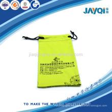 Bolsa de regalo de microfibra con seda-impresión