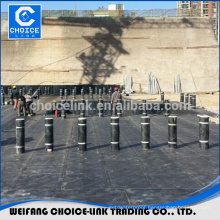 Modified asphalt felt reinforced by fiberglass mesh composite mat