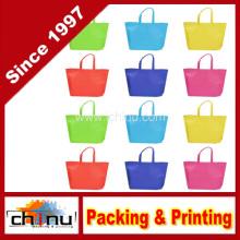 Paquete de colores surtidos no tejidos reutilizables niños llevando cartera de compras para el favor de fiesta (920076)