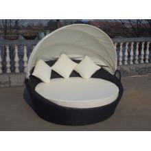 Al aire libre muebles aluminio playa una cama Oval