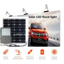 Lanterna de inundação solar LED com IP65 10-50W para iluminação de parque