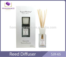 popular air fragrance 80-150ml glass aroma essential oil reed diffuser