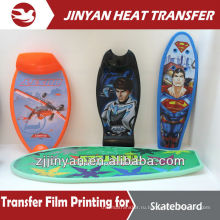 2015 fashion hot sale heat transfer film for skateboards