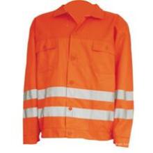 Casaco de laranja leve reflexivo de Mens barato