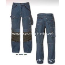 Craftsman Denim Cargo Pants