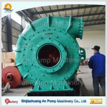 Horizontale Abnutzung korrosionsbeständige Dieselmotor-Goldausbaggernde Schiffskies- u. Bagger-Schlammpumpe