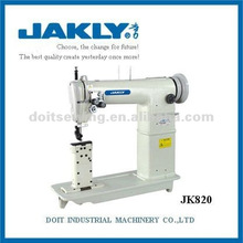 JK820 Máquina de coser industrial de punto de cadeneta Heavy-Duty de doble aguja