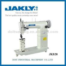 JK820 Post Bed Double-agulha Heavy Duty Lockstitch Máquina De Costura Industrial