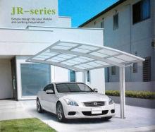 Hot!!! Stylish Single Basic Aluminum carports