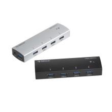 Full Aluminum Material 4port USB3.0 Hub
