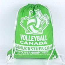 Promocionais baratos não tecidos Drawstring Sports Bag