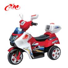 высокое качество дети мини-электрический мотоцикл для 3-6yearsyears старый/пластиковые электрический автомобиль для детей ездить на батарейках