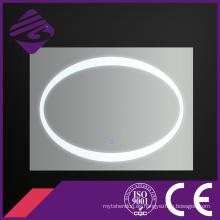 Jnh217 rectángulo decorativo retroiluminada LED iluminado pantalla táctil espejo de baño