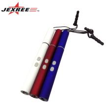 Très populaire cadeau multifonctionnel stylo tactile mini led lampe laser stylo laser