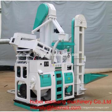 Machines de riz prix de machine automatique de moulin à riz