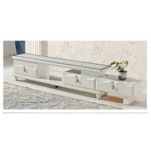 Белый крем мраморная подставка с ножками из нержавеющей стали (8006)