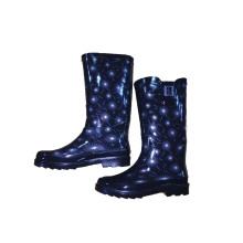 Regen Stiefel Lieferant High Heel Regen Stiefel für Verkauf Ss-098