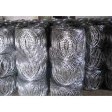Flat Mesh (razor barbed wire)
