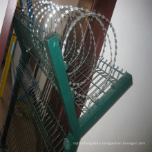 PVC Razor Barbed Wire for Safety Fence
