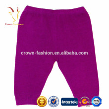 Winter baby cashmere knitted pants for kids