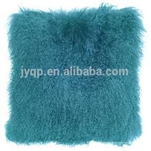 подлинная роскошь овчина ткань подушки