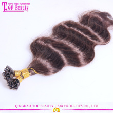 Fashion color good feedback keratin hair extension