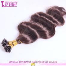 Extensão do cabelo da queratina do bom feedback cor de moda