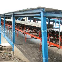 Convoyeur à bande de manutention de matériaux ASTM / DIN / Cema / Sha