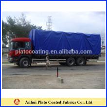 Caminhão coberto de lona revestida de lona de PVC