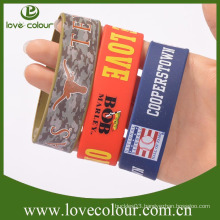 High quality custom hand bracelet silicone wristband real madrid wristband