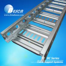 Bandeja de escalera de cable BC4 Galvabond Bandeja de cable OEM de tipo australiano con certificación CE y UL