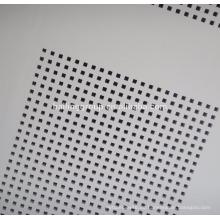 Gipskarton-Standardgröße perforierte Platten akustische Deckenfliese