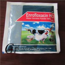Enrofloxacin HCL Water Soluble Powder