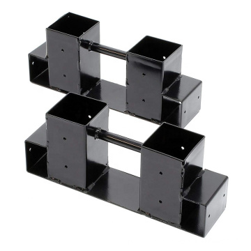 Height Length Adjustable Indoor Metal Firewood Storage Rack