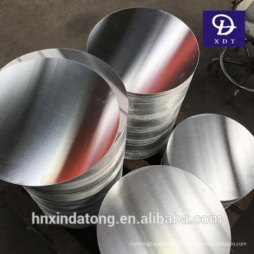 Cercle / disque en aluminium DC / CC de finition de moulin pour la vaisselle