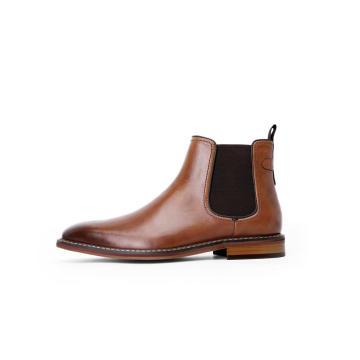Mens Elastic Cord Boots