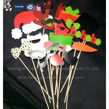 Différents types de décorations de gâteau avec le matériel qui respecte l'environnement
