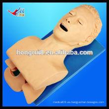 VENTAS CALIENTES Modelo electrónico de la intubación de la vía aérea