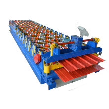 Aluminium Sheet  Double Layer Roll Forming Machine