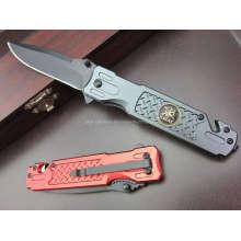 Couteau de survie à poignée en aluminium (SE-028)