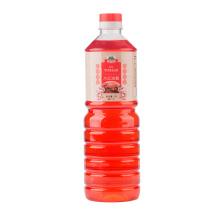 Botella de plástico de 1000 ml de vinagre rojo