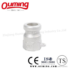 Stainless Steel a-Type Quick Coupling Casting with Precision Investment (OEM/ODM)