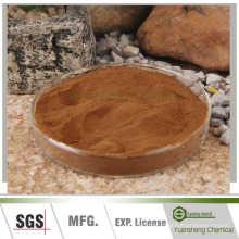 Lignosulfonato de aditivo-sódio de pasta de água de carvão