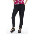 High Quality Women′s Turn-up Cuff Fashin 3/4 Long Pants