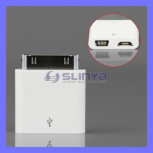 Mini Micro USB Charger Adapter to Apple Dock Plug for iPhone 4S iPad (Adapter-152)