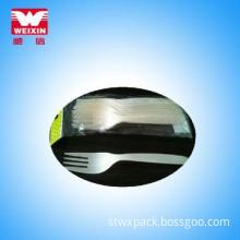plastic fork knife set